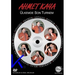 Ülkemde Son Turnem - Ahmet Kaya - DVD