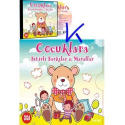 Çocuklara Sihirli Şarkılar ve Masallar - 3 CD Set