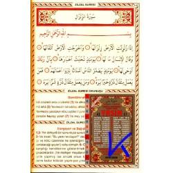 41 Yasin (ayfa014) - Rahle boy, Indeksli, Türkçe Okunuşlu ve Mealli (3 lü), Elmalılı Hamdi Yazır