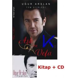 Aşk ve Vefa - Uğur Arslan - Kitap + CD