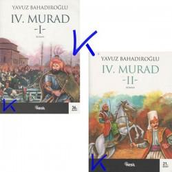 4. Murad 1 ve 2 set - Tarihi Roman seti - Yavuz Bahadıroğlu