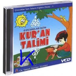 Kur'an Talimi, çocuklar için - Ok takipli, sesli, görüntülü Namaz Sureleri, Kısa Sureler - VCD