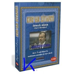 Kur'an Ziyafeti, Kuran CD si - Aşrı Şerifler - Ismail Biçer - 5 CD