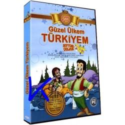 Güzel Ülkem Türkiyem, Seyyah Çelebi - çocuklar için eğitici, eğlendirici bilgisayar oyunu - Altın Topaç - CDROM PC