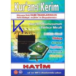 Kur'an-ı Kerim Hatim CDR - MP3 - Kabe Imamları - 5 dilde mealli Kuran