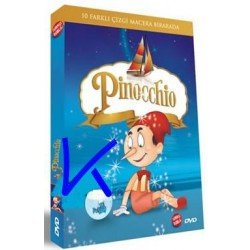 Pinocchio - Pinokyo - çizgi film DVD