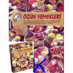 Öğün Yemekleri - Görüntülü Yemek Tarifleri 12 VCD - Filiz Gün