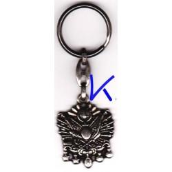 Anahtarlık - Osmanlı Arma + logo Türkiye - metal