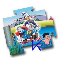 Puzzle Kitap - Çizmeli Kedi - Sert kitap - bebek - Hobi