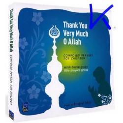 Thank You Very Much Allah - Teşekkür Ederim Allah'ım - ingilizce çocuk ilahileri - Minik Dualar Grubu - CD