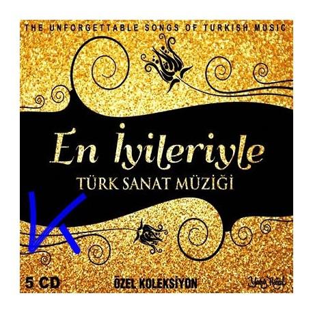 En Iyileriyle Türk Sanat Müziği - 5 CD özel koleksiyon set - Zeki Müren, Emel Sayın, Muazzez Abacı, Gönül Yazar, Müzeyyen Senar