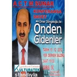 15.12.12 cumartesi, Macon'da Ömer Döngeloğlu konferansı ve kitap standı