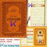 Tecvidli Kur'an-ı Kerim - Tecvid kitabı Hediyeli - lüks baskı - kahve rengi kapak - orta boy - Sefa