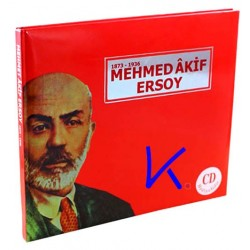 Mehmed Akif Ersoy - 1873 - 1936 - büyük boy - Kitap + CD hediyeli