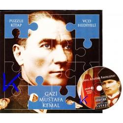 Gazi Mustafa Kemal - Puzzle Kitap - VCD Hediyeli