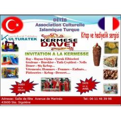 20 - 21 Nisan 2013 cumartesi ve pazar günleri Ste Sigolene kermesindeyiz (43600)