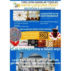 28 Nisan 2013 pazar günü Venissieux Eyup Sultan Camii kermesindeyiz (69800)