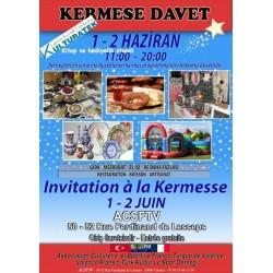1 - 2 haziran 2013 cumartesi ve pazar 26000 Valence kermesindeyiz...