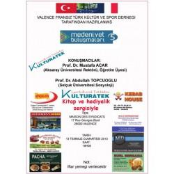 13.07.13 Cumartesi Valence dayız... Konferansa, Kitap ve Hediyelik sergisine, ve iftara bekleriz - 26000 Valence