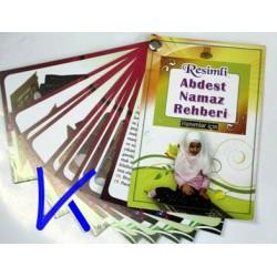 Resimli Abdest - Namaz Rehberi - Hanımlar için, Kartela