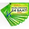 Müslümanın 24 Saati - 40 Hadis - Hadislerle günlük dualar - kartela