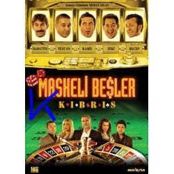 Maskeli Beşler Kıbrıs - DVD
