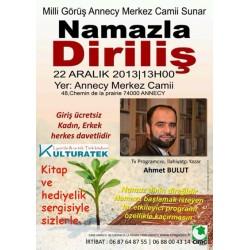 22.12.13 pazar günü Annecy programinda Kitap ve Hediyelik sergisi