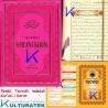 Tecvidli Kur'an-ı Kerim - Tecvid kitabı Hediyeli - lüks baskı - pembe renk kapak - rahle boy - Sefa