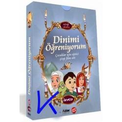 Dinimi Öğreniyorum çizgi film seti - 14 VCD